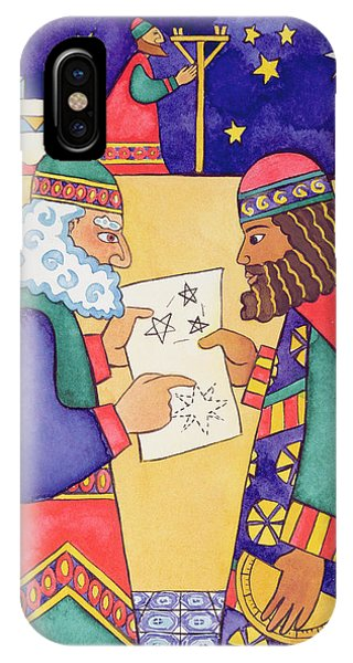 The Wise Men Looking For The Star Of Bethlehem IPhone Case