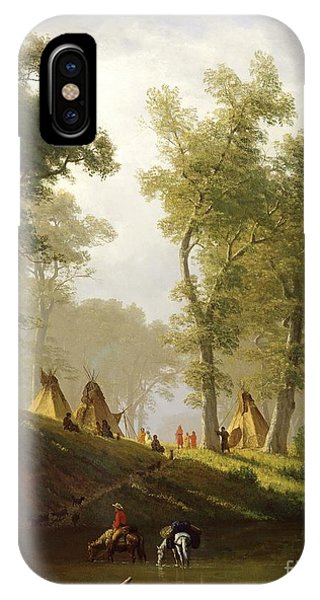 The Wolf River - Kansas IPhone Case