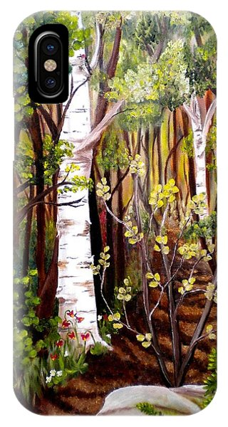 The Woodland Trail IPhone Case
