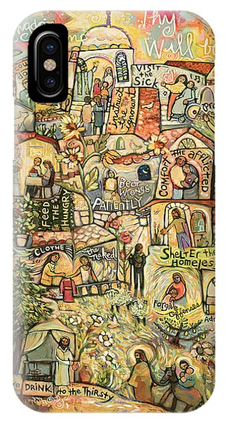 Church iPhone Case - The Works Of Mercy by Jen Norton