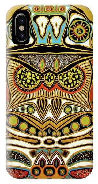 Mustard iPhone Case - The World Of Patterns by Jolanta Anna Karolska