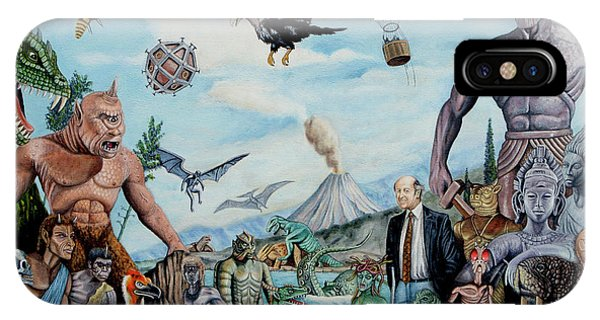 The World Of Ray Harryhausen IPhone Case
