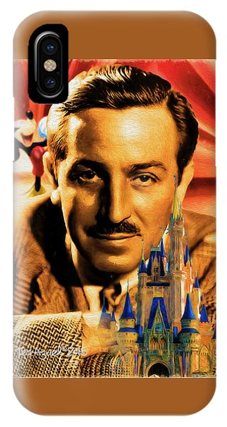 The World Of Walt Disney IPhone Case