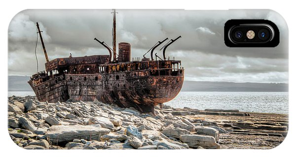 The Wreck Of Plassey IPhone Case