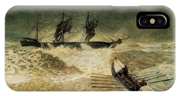 The Wreck Of The Iron Cloud, 1881 IPhone Case