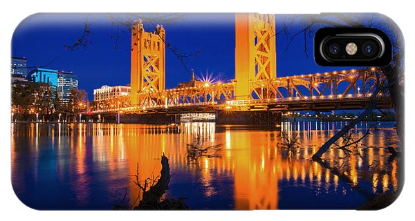 The Yellow Bridge  IPhone Case