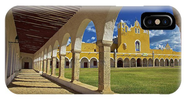 The Yellow City Of Izamal, Mexico IPhone Case