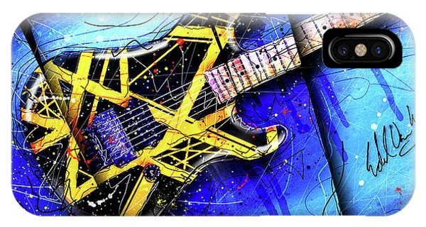 Van Halen iPhone Case - The Yellow Jacket_cropped by Gary Bodnar
