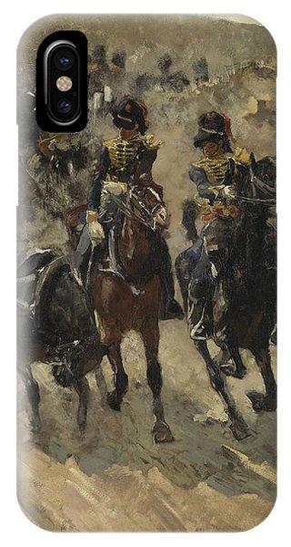 The Yellow Riders, George Hendrik Breitner, 1885 - 1886 IPhone Case