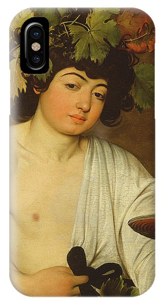Bar iPhone Case - The Young Bacchus by Caravaggio
