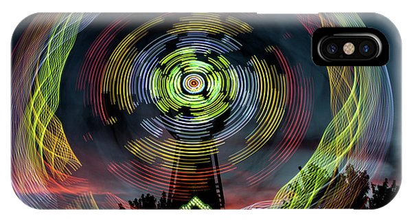 The Zipper Motion Art By Kaylyn Franks IPhone Case