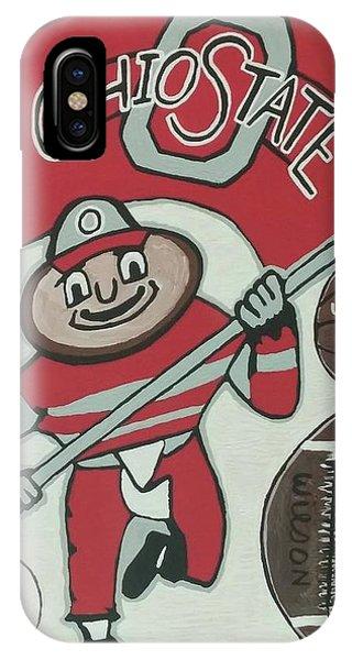 Thee Ohio State Buckeyes IPhone Case