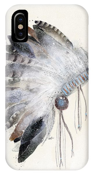 Native iPhone Case - The Headdress by Bri Buckley