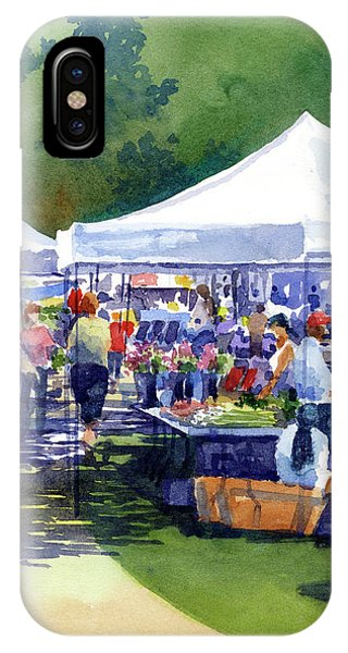 Theinsville Farmers Market IPhone Case