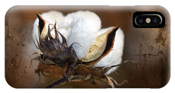 Layer iPhone Case - Them Cotton Bolls by Kathy Clark