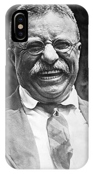 Theodore Roosevelt Laughing IPhone Case