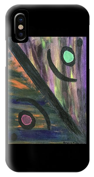 IPhone Case featuring the painting Therapist's Office by Robbie Masso