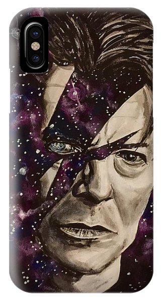 There's A Starman Waiting In The Sky IPhone Case