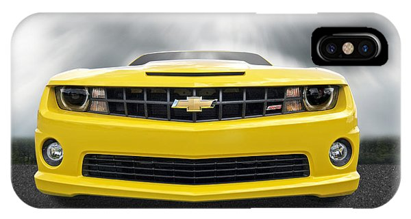 There's A Storm Coming - Camaro Ss IPhone Case