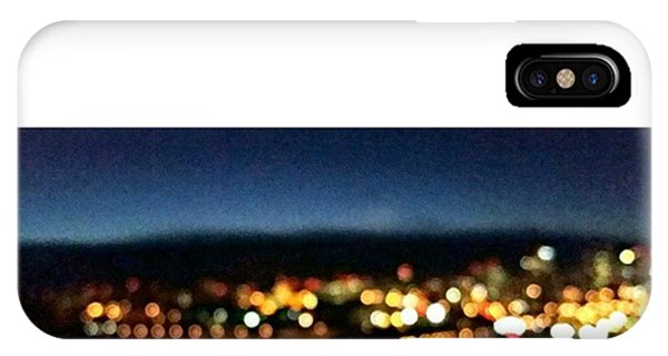 City Scape iPhone Case - There's Something Calming About by Kassidy Wormald