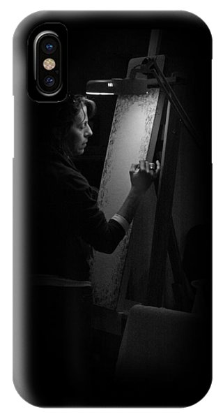 Theresa Marie Johnson, Painter IPhone Case