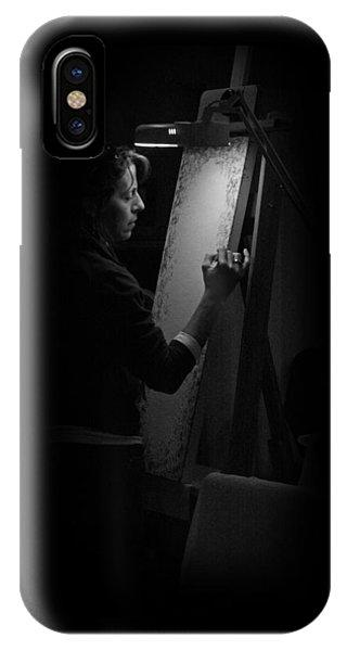 Theresa Marie Johnson, Painter IPhone Case