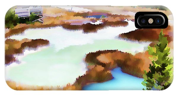 Thermal Pools, West Thumb Ynp IPhone Case