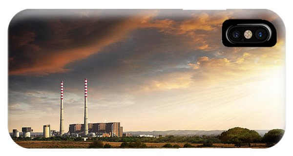 Thermoelectrical Plant IPhone Case
