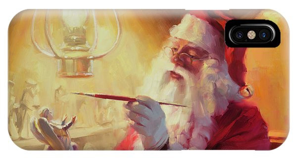 Santa Claus iPhone Case - These Gifts Are Better Than Toys by Steve Henderson