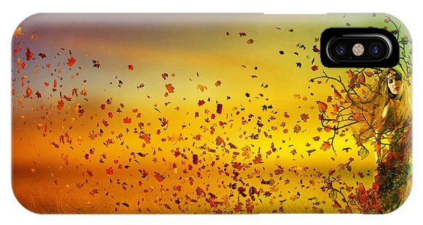 Fall Colors iPhone Case - They Call Me Fall by Karen Koski