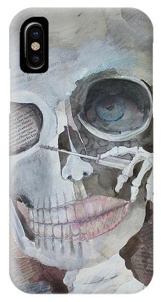 Bone iPhone Case - They Lied by Betty OHare