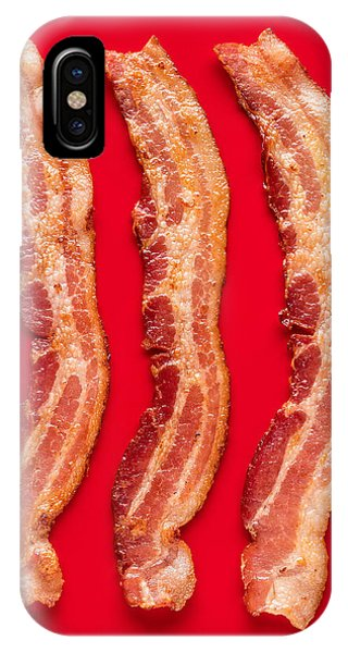 Kitchen iPhone Case - Thick Cut Bacon Served Up by Steve Gadomski