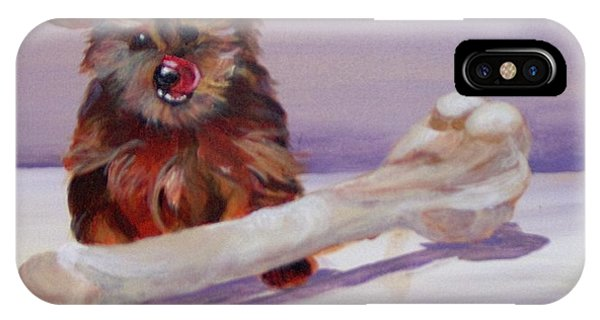 IPhone Case featuring the painting Think Big by Saundra Johnson