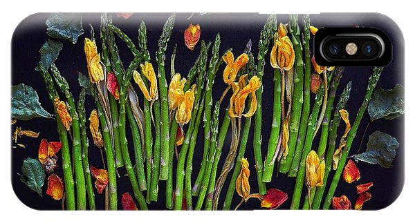 Think Spring Asparagus IPhone Case