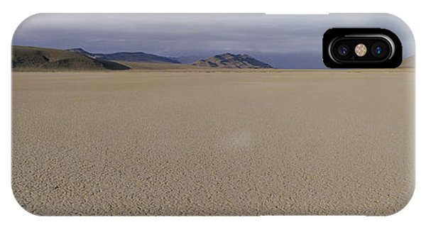 Desolation iPhone Case - This Is A Dry Lake Pattern by Panoramic Images