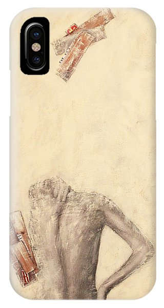 IPhone Case featuring the painting This Is All I Am by Geraldine Gracia