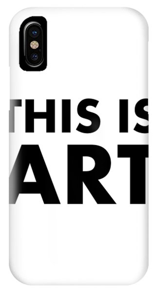 This Is Art IPhone Case