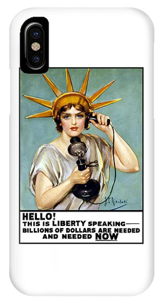 This Is Liberty Speaking - Ww1 IPhone Case