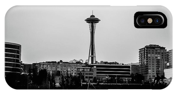 This Is Seattle Black And White IPhone Case