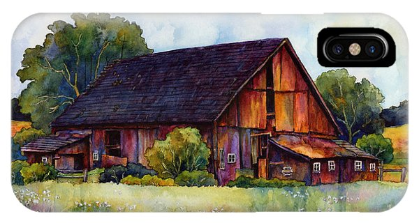 Barn iPhone Case - This Old Barn by Hailey E Herrera