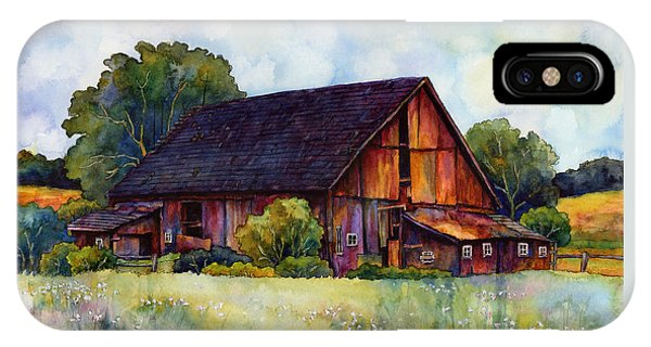 Old Barn iPhone Case - This Old Barn by Hailey E Herrera