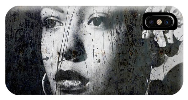 Rhythm And Blues iPhone Case - This Ole Devil Called Love  by Paul Lovering