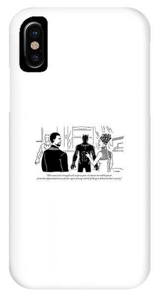This Suits Strength Will Surprise You IPhone Case