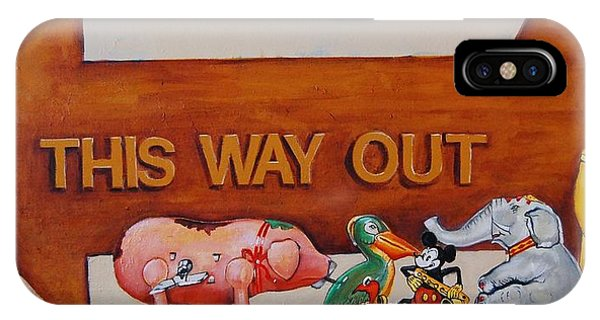 This Way Out IPhone Case