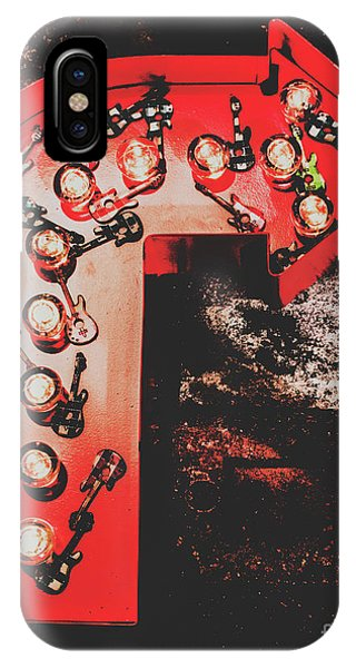 Rock And Roll Art iPhone Case - This Way To Rock City by Jorgo Photography - Wall Art Gallery