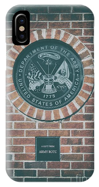 Department Of The Army iPhone Case - This We'll Defend by Dale Powell
