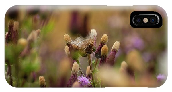 IPhone Case featuring the photograph Thistle Babies by Jeremy Lavender Photography