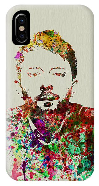 Celebrity iPhone Case - Thom Yorke by Naxart Studio