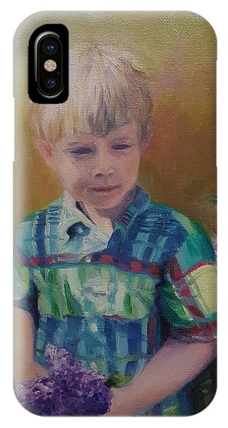 Thomas Age 3 IPhone Case