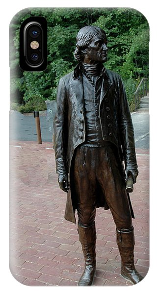 Thomas Jefferson At Monticello IPhone Case